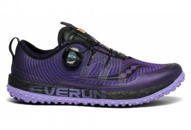 Saucony SWITCHBACK ISO Purple Black Women