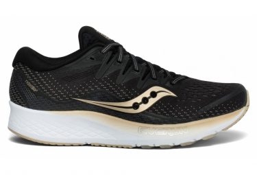 Saucony RIDE ISO 2 Black Gold Women 360