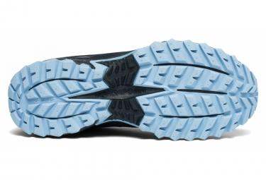 Chaussures de Trail Saucony Excursion TR13 GTX Noir / Bleu / Gris