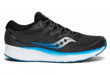 Chaussures de Running Saucony RIDE ISO 2 Noir / Bleu