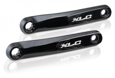 Pair of cranks XLC CR-E01 for Motor Bosh Black