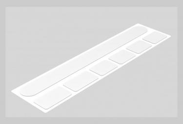 Zefal Skin Armor S Transparenter Rahmenschutz
