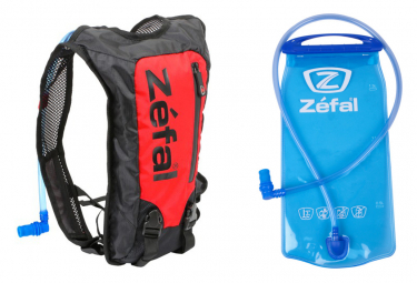 Zefal Z Hydro Race Hydration Bag + Water Red / Black Pocket