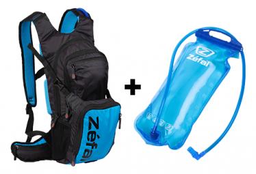 Sac Hydratation Zefal Z Hydro Enduro + Poche à Eau Noir / Bleu