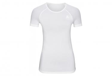 Camiseta De Manga Corta Odlo Performance X Luz Mujer Blanca L