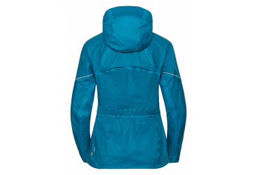 Odlo ZEROWEIGHT RAIN WARM Woman Jacket Bleu
