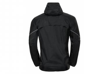 Odlo ZEROWEIGHT RAIN WARM Jacket Men Black