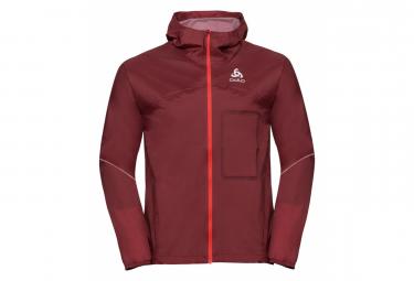 Odlo ZEROWEIGHT RAIN WARM Man Jacket Red