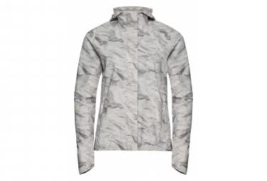 Odlo 2.5L FLI Jacket Damen Silver Grey - Papierdruck