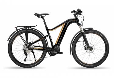 Bicicleta Híbrida Eléctrica BH X-Tep Cross Pro 28'' Noir / Beige