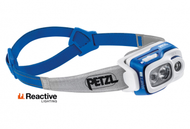 Petzl SWIFT RL Front Light Blue