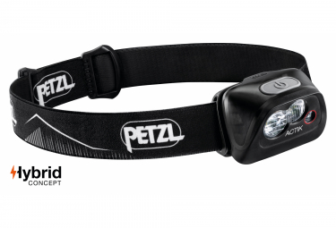 Petzl Actik Front Light Black