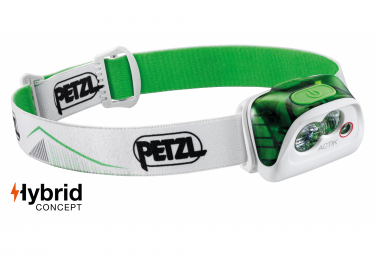 Petzl Actik Front Light Green White