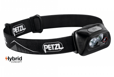 Petzl Actik Core Front Light Black