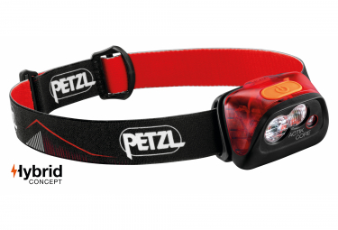 Petzl Actik Core Front Light Red