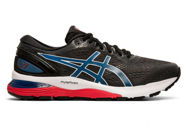 Asics Gel Nimbus 21 Black Blue Men