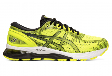 Asics Gel Nimbus 21 Yellow Black Men