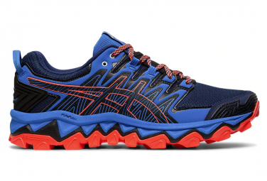 Asics Gel Fujitrabucco 7 Blue Orange Men