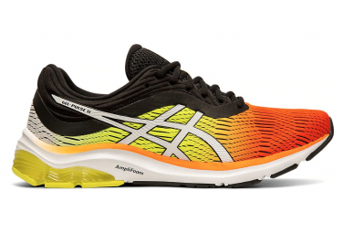 Asics Gel Pulse 11 Orange Black Yellow Men