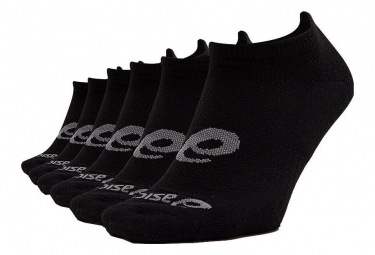Asics Socks x6 Invisible Black Unisex