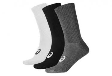 Asics Socks x3 Crew Grey Unisex