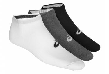 Pack de 3 Paires de chaussettes Asics Ped Gris Unisex