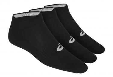 Pack de 3 Paires de Chaussettes Asics Ped Noir Unisex