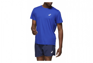 Asics Short Sleeves Jersey Silver Blue Men