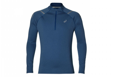 Asics 1/2 Zip Long Sleeves Jersey Icon Grey Men