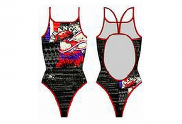 Maillot Fille 1 piece TURBO FRANCE Coq Vintage 2013 Thin Straps
