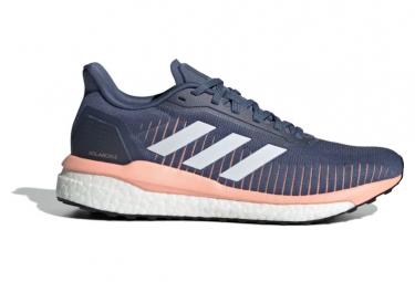 Zapatillas Adidas Solar Drive Para Mujer  Gris   Rosa 40 2 3