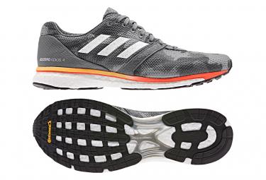 Zapatillas adidas running adizero adios para Hombre Gris / Naranja