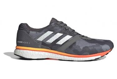 Adidas Adizero Adios Camo   Naranja Zapatillas De Running 41 1 3