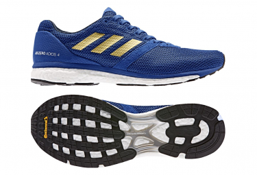 Adidas adizero adios running shoes Blue / Gold