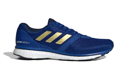 Adidas adizero adios running shoes Blue / Gold