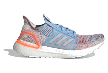 Adidas UltraBoost Women's Running Shoes Blue / Orange