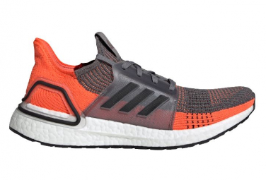 Adidas UltraBoost Laufschuhe Grau / Orange