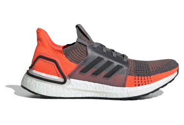Adidas UltraBoost Running Shoes Gray / Orange