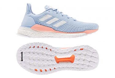 Adidas Solar Boost Damen Laufschuhe Blau / Pink
