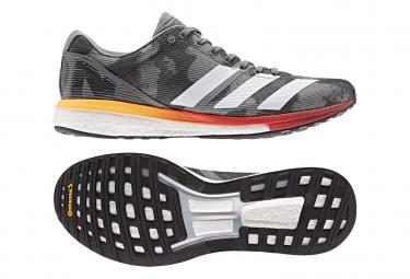 Adidas adizero Boston 8 Camo / Orange Laufschuhe
