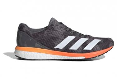 Zapatillas adidas running adizero Boston 8 para Hombre Gris / Naranja