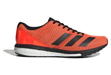 Adidas adizero Boston 8 running shoes Orange / Black
