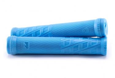 Poignées BMX Merritt Charlie Crumlish Signature Grip Bleu