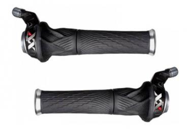 SRAM Grip Shift PAIRE XX 2x10V avec poignées - SRAM