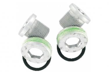 SRAM Vis de serrage manivelle M15/M22 alu avec extracteurx2