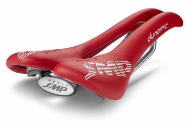 Saddle SMP Dynamic Rails Inox Red