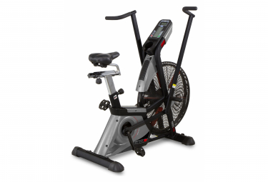 Image of Velo d appartement cross 1100 h8750 systeme inertiel a aire guidon mobile pour entrainer jambes et bras semipro
