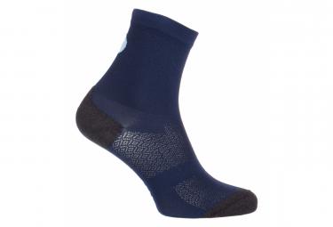 Pair of LeBram Pro-Fit Socks Cross Fry Blue