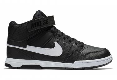 Chaussures Enfant Nike SB Mogan Mid 2 JR Noir Blanc