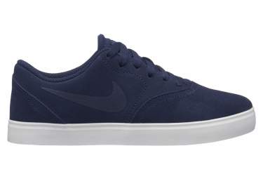 Nike SB Check Suede Kids' Shoes Navy Blue